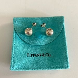 Tiffany & Co 10mm ball earring